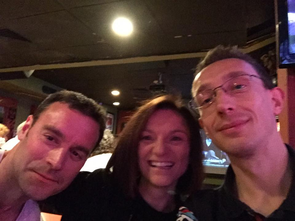 Pre-race bar selfie